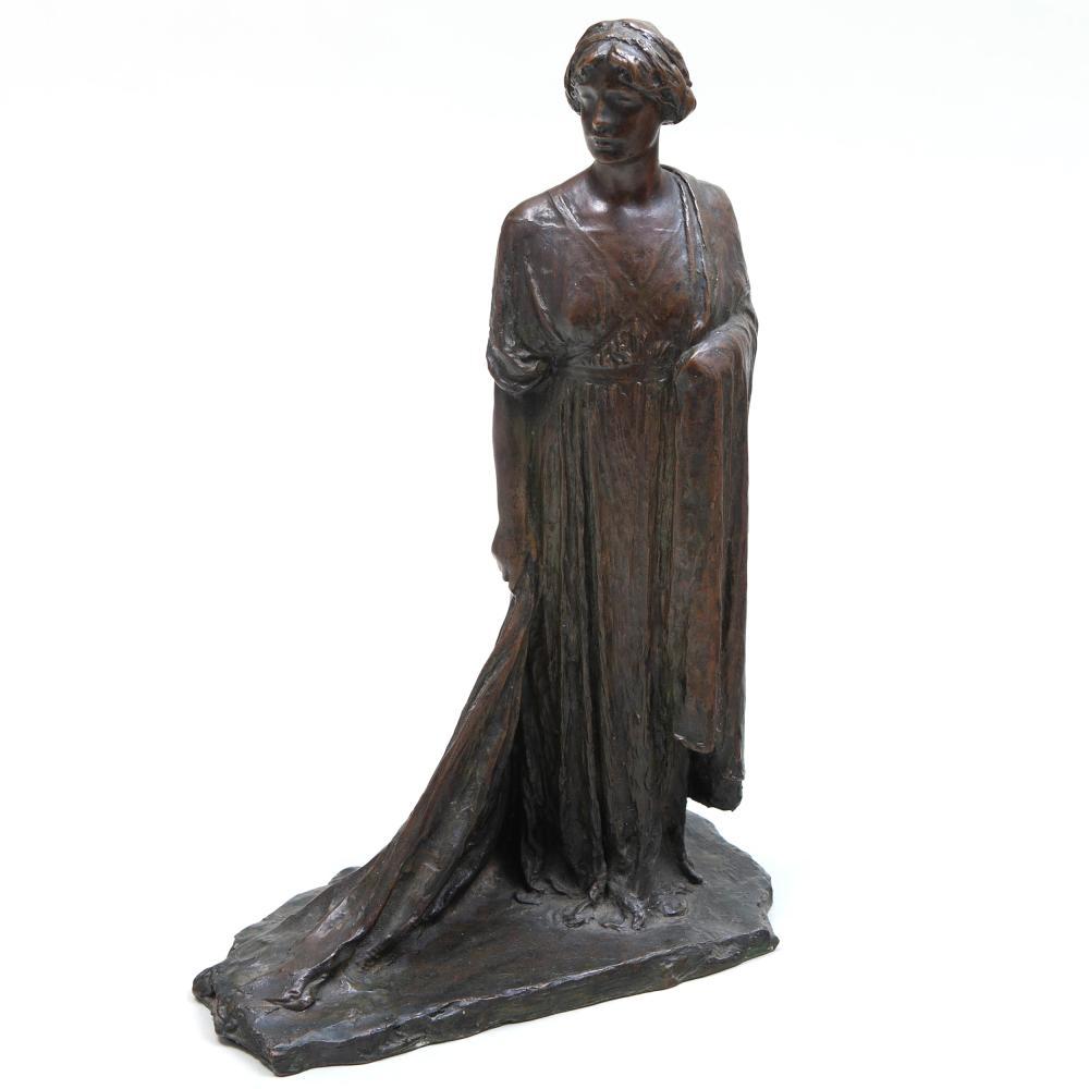 Bessie Potter Vonnoh (1872-1955): Standing Figure