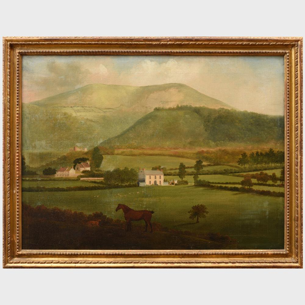 English School: Country Houses in an Extensive Landscape