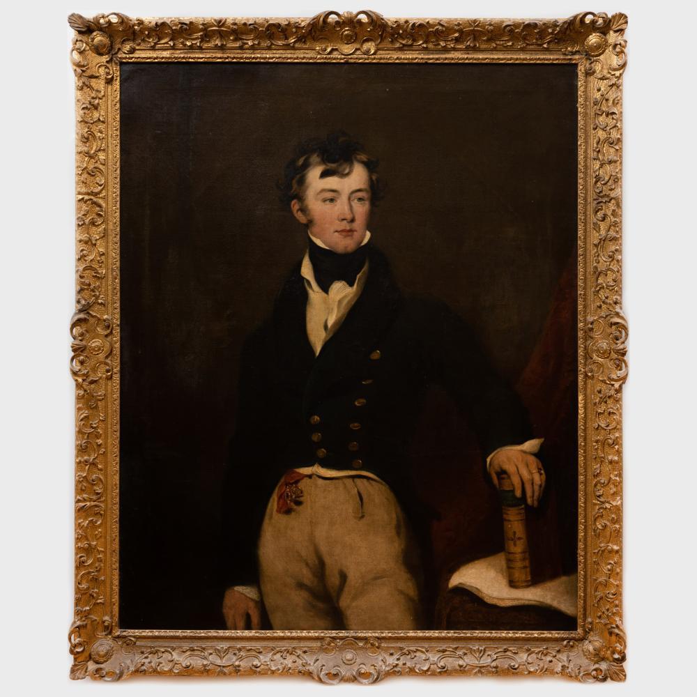 English School: Portrait of a Young Gentleman