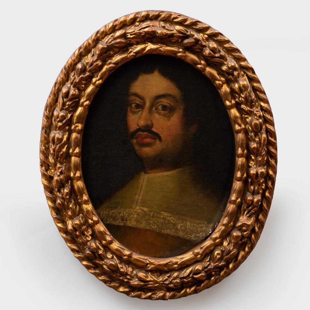 Spanish School: Portrait of a Nobleman