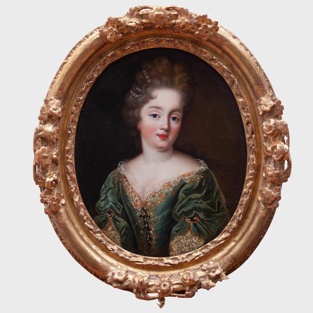 French School: Portrait of a Lady