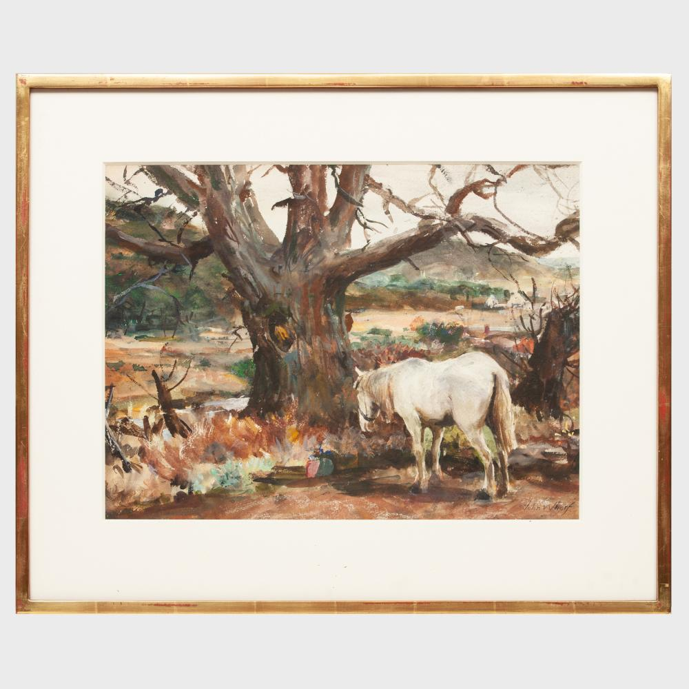 John Whorf (1903-1959): Out to Pasture