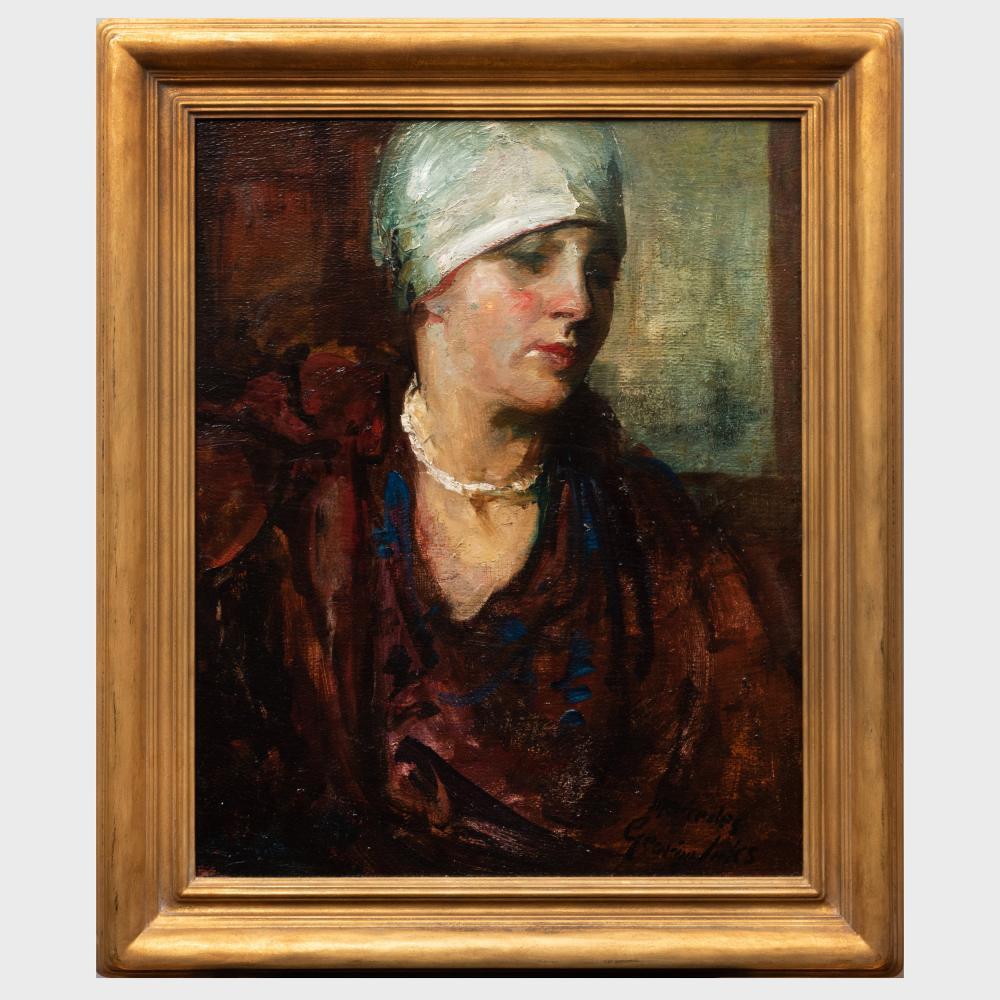 Attributed to George Benjamin Luks (1867-1933): Mercedes