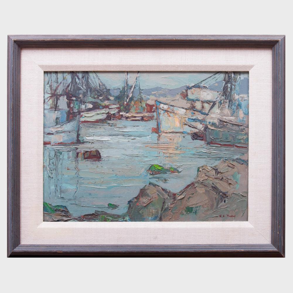 Si Chen Yuan (1911-1974): Monterey Bay