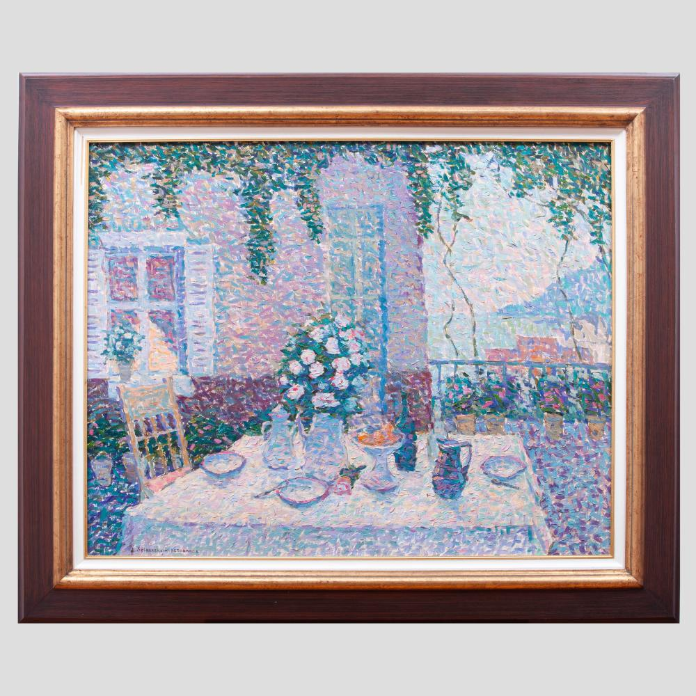 Jeanne Selmersheim-Desgranges (1877-1958): Terasse Fleurie