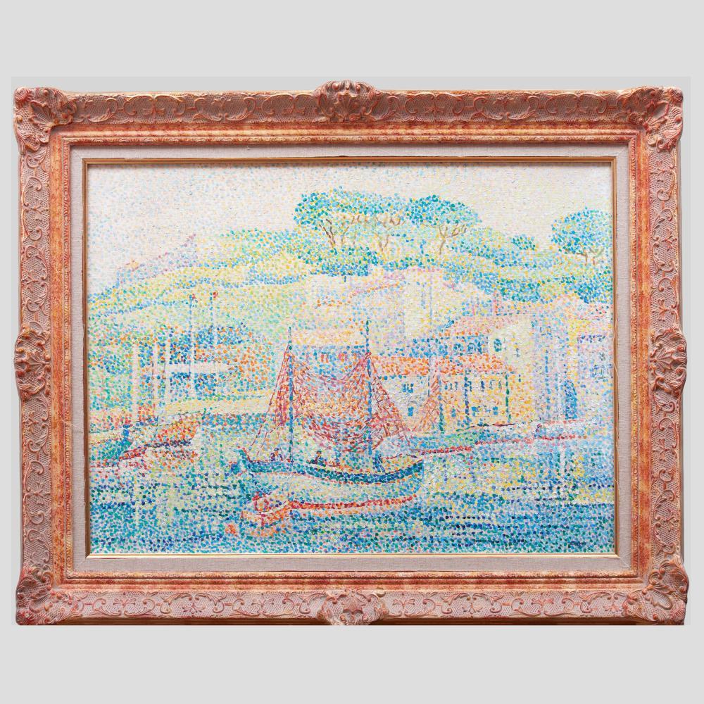 Yvonne Canu (1921-2007): Environs de Saint Tropez