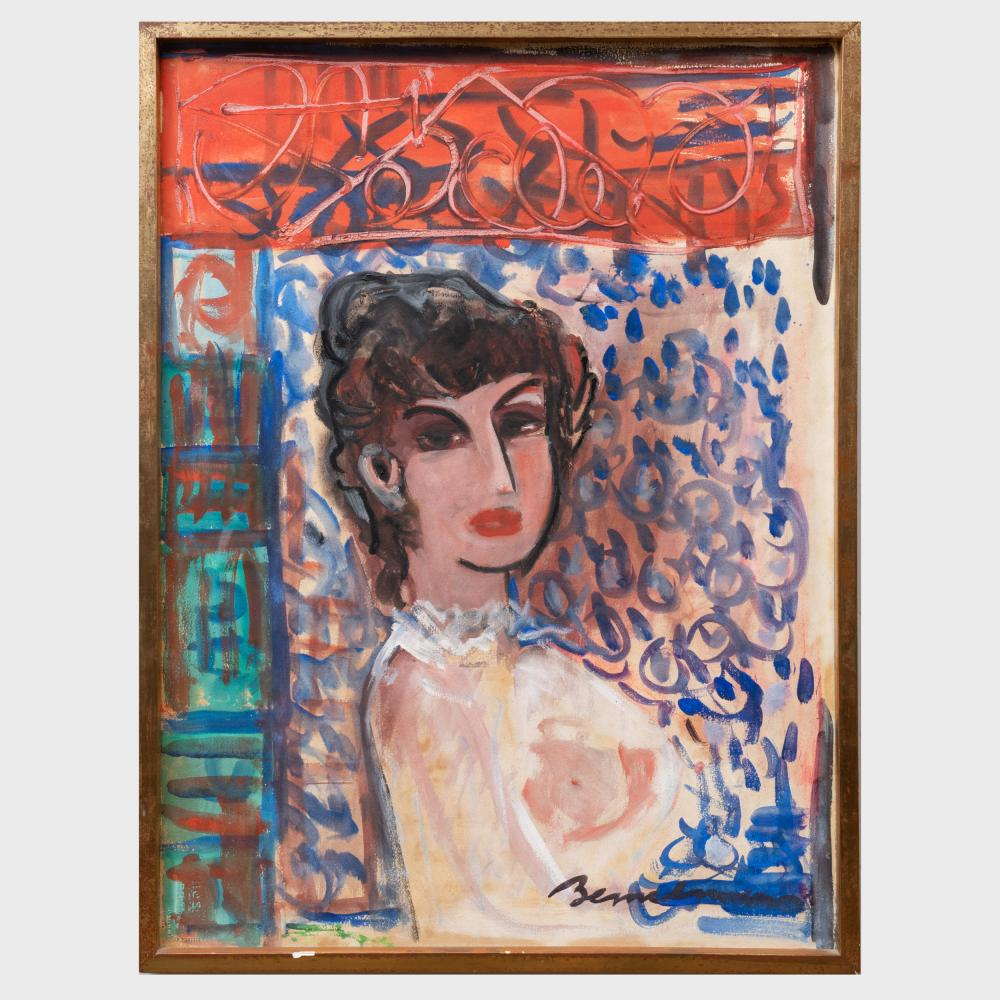 Ludwig Bemelmans (1898-1962): Portrait of a Woman