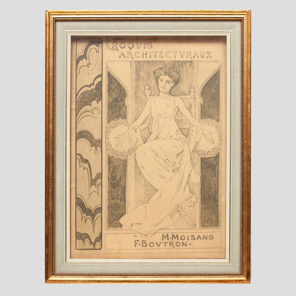 After Alphonse Mucha (1860-1939): Croquis Architecturaux