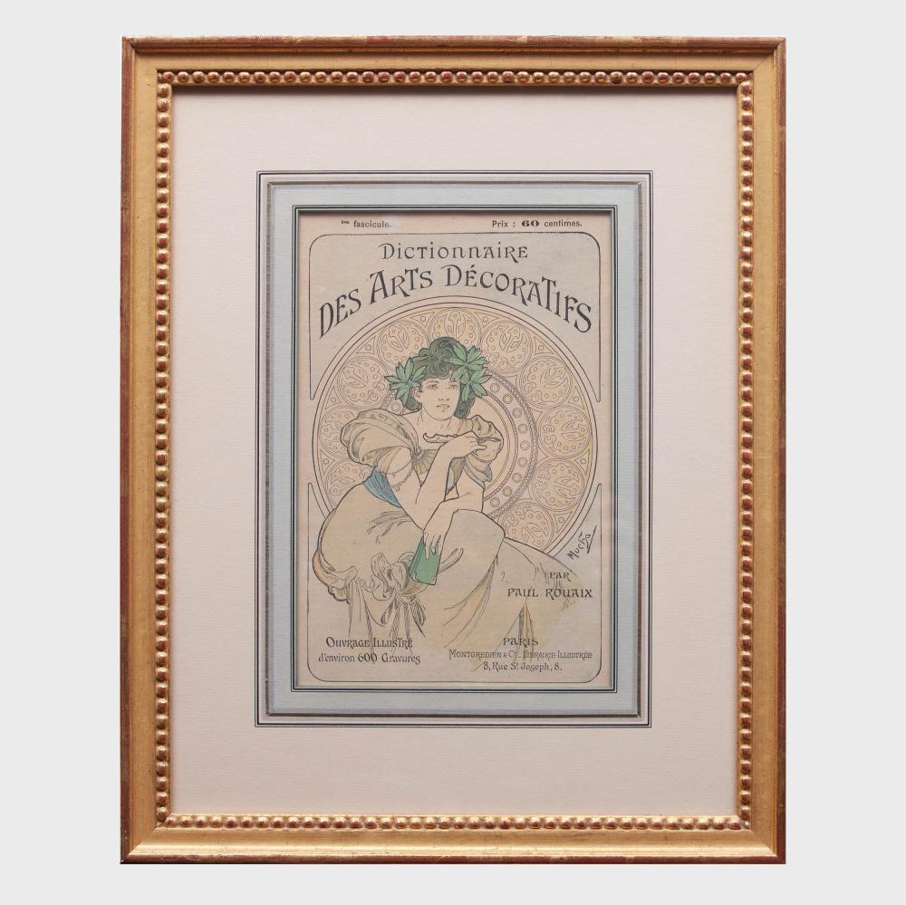 Alphonse Mucha (1860-1939): Dictionnaire Des Arts Decoratifs