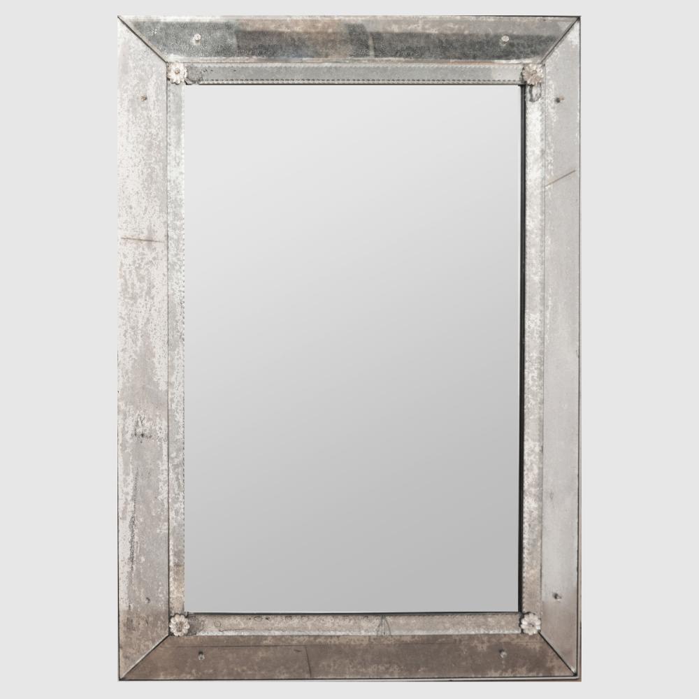 Venetian Baroque Style Glass Mirror