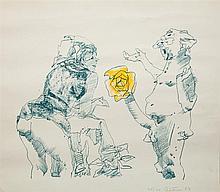 John Altoon (1925-1969): Untitled