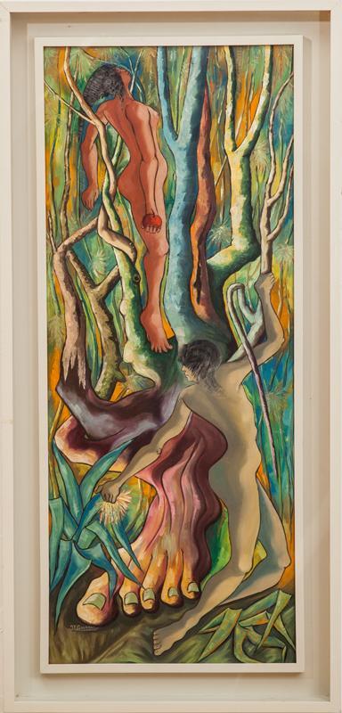Jacques-Enguerrand Gourgue: Adam and Eve