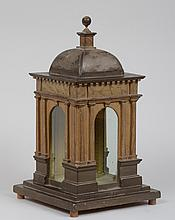 CONTINENTAL NEOCLASSICAL PAINTED FOLLY, PROBABLY ENGLISH