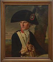 JEAN-LOUIS LANEUVILLE (1748-1826): PORTRAIT OF A SOLDIER
