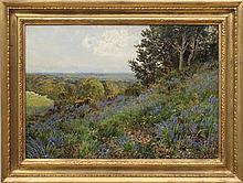 JOHN CLAYTON ADAMS (1840-1906): SURRY BLUEBELLS
