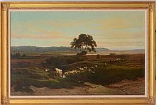 FRANS KEELHOFF (1820-1891) AND EUGÈNE VERBOECKHOVEN (1798-1881): SHEEP AND CATTLE GRAZING