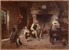 LÉON EMILE CAILLE (1836-1907): THE LITTLE DRUMMER