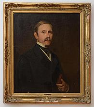 ATTRIBUTED TO THOMAS FRANCIS DICKSEE (1819-1895): PORTRAIT OF JAMES PRICE