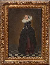 FLEMISH SCHOOL: PORTRAIT OF A WOMAN