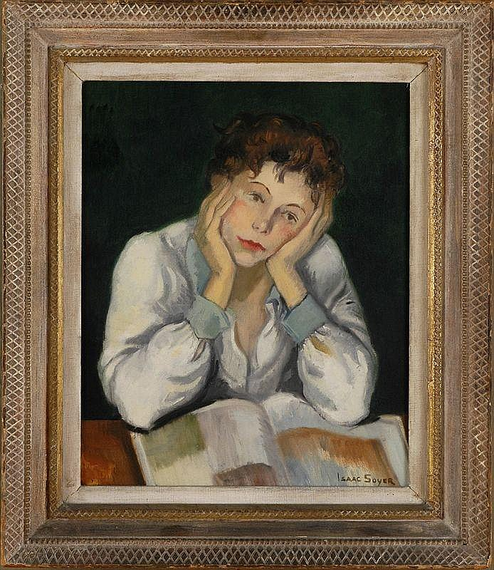 ISAAC SOYER (1907-1981): LOST IN THOUGHT