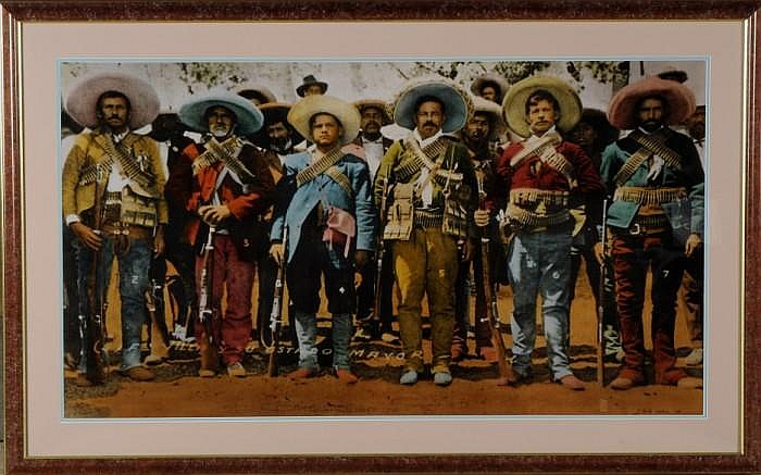 Robert Schrope Wade (American, b. 1943): Untitled (Pancho Villa)