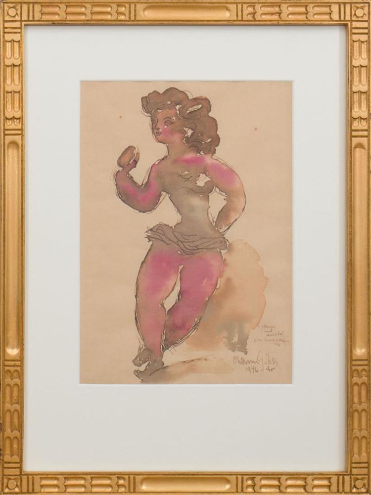 CHAIM GROSS (1904-1991): DANCER