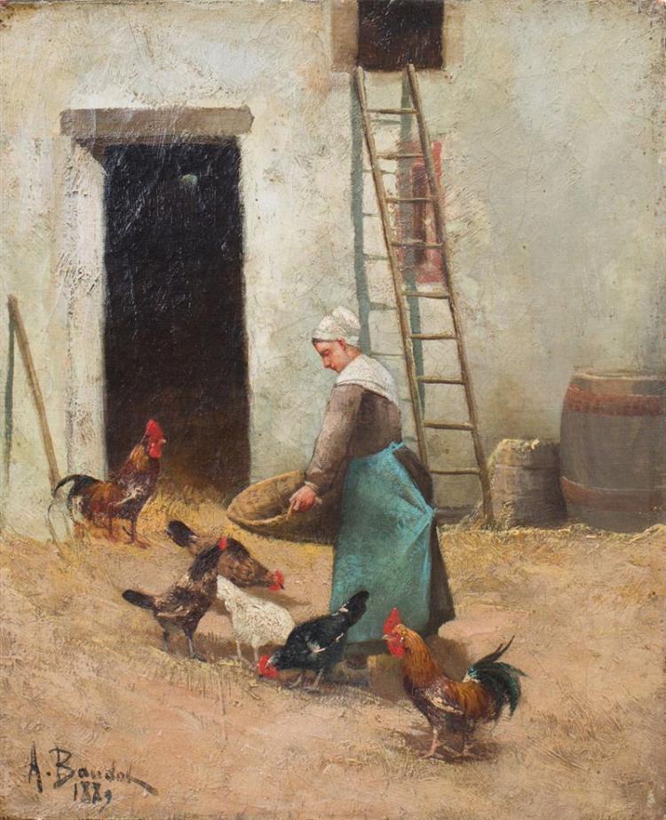 EUROPEAN SCHOOL: FEEDING THE CHICKENS