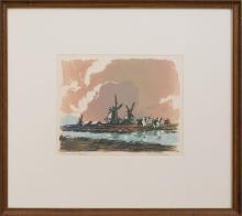 ERNEST WATSON (1884-1969): DUTCH PASTURES
