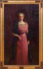 LOUIS BETTS (1873-1961): PORTRAIT OF MRS. ELLA FLAGG YOUNG