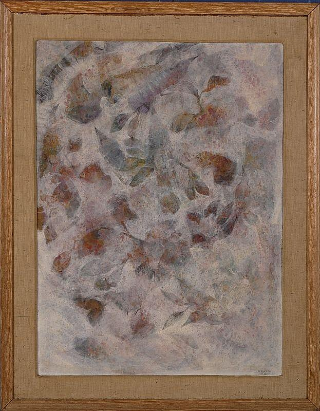 KAHLIL GIBRAN (1883-1931): UNTITLED ABSTRACT