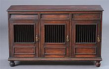 Late George III Mahogany Food Cupboard