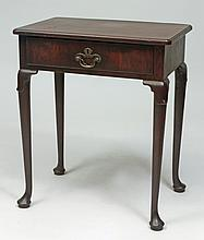George I Walnut Side Table