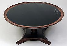 Regency Style Circular Pedestal Table