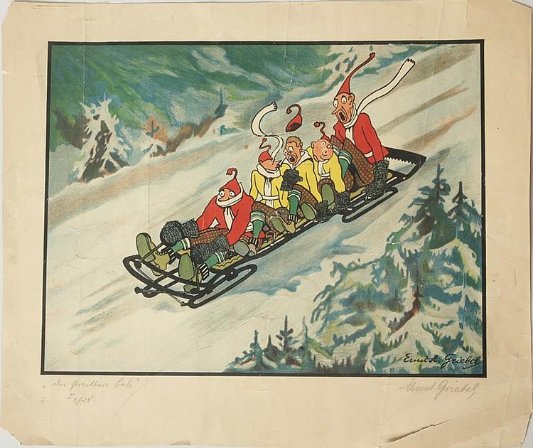 Ernst A. Griebel (1877-c.1955): Der Streitbare Bob