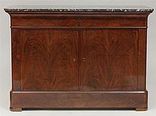 Louis Philippe Mahogany Side Cabinet