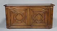 Italian Baroque Style Carved Walnut Side Cabinet