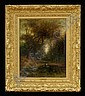 HUDSON MINDELL KITCHELL (1862-1944): AUTUMN LANDSCAPE, Hudson Mindell Kitchell, Click for value