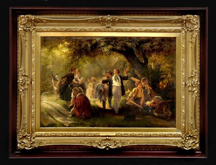 FRANZ KELS (1828-1893): ARTISTS' EXCURSION