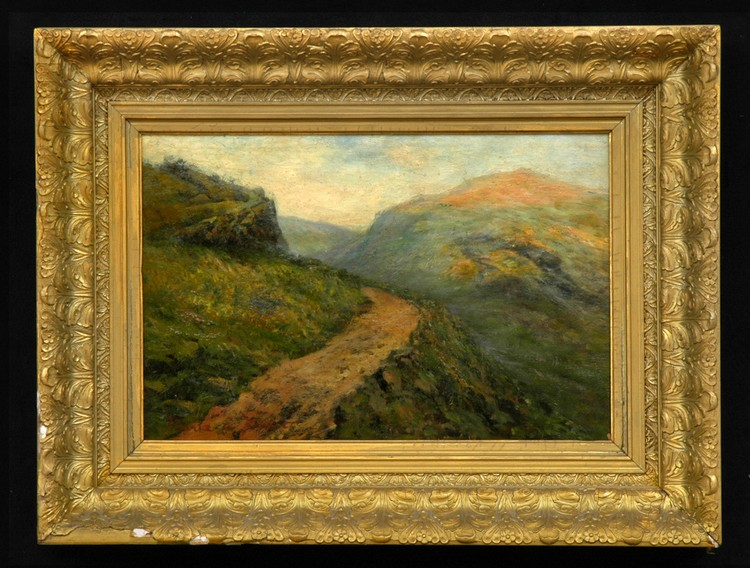 MARIA A'BECKET (d. 1904): MOUNTAIN TRAIL IN SPRING