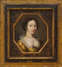 EUROPEAN SCHOOL: PORTRAIT OF A LADY