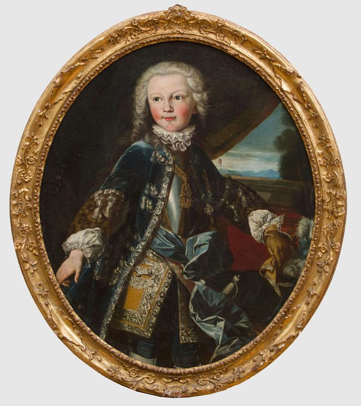 FRENCH SCHOOL: PORTRAIT OF VITTORIO AMADEO III, DUKE OF SAVOY