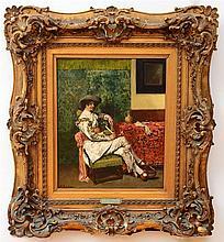 FERDINAND ROYBET (1840-1920): A CAVALIER