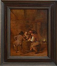 JAN MIENSE MOLENAER (1609-1668): BOORS REGALING