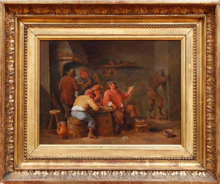 EUROPEAN SCHOOL: TAVERN SCENE