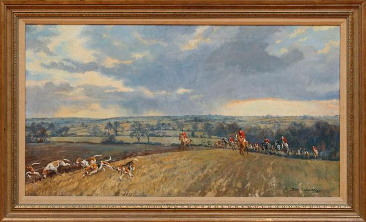 JOHN THEODORE EARDLEY KENNEY (1911-1972): COTTESMORE HUNT