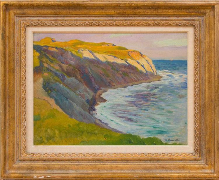 WILLIAM STARKWEATHER (1879-1969): LIGHT ON THE CLIFF; AND HAVRE