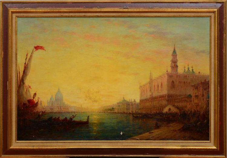 CHARLES CLÉMENT CALDERON (1870-1906): THE GRAND CANAL, VENICE