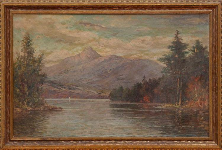 WILLIAM FREDERICK PASKELL (1866-1951): LAKE UP TO CHOCORUS