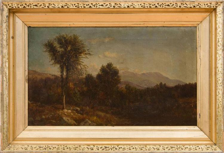 ATTRIBUTED TO FRANK HENRY SHAPLEIGH (1842-1906): NORTH WOODSTOCK, NEW HAMPSHIRE