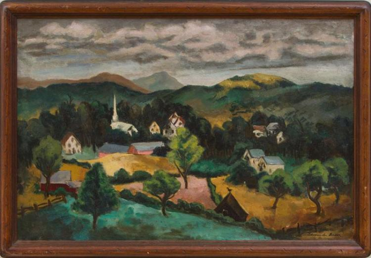 ALEXANDER BROOK (1898-1980): WOODSTOCK, N.Y.